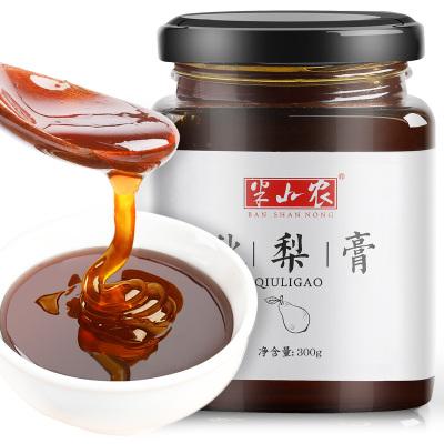 半山農 秋梨膏 蜂蜜冰糖雪梨汁膏 300g/罐 羅漢果薄荷植物沖泡養身茶飲品