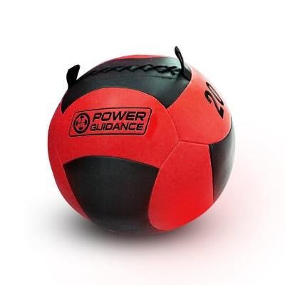 因樂思(YINLESI)健身藥球重力球軟實心PU壁球墻球彈力爆發力穩定平衡訓練敏捷橡膠