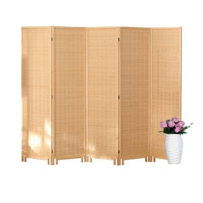 新中式家用實木屏風簡易折疊移動折屏客廳酒店辦公室遮擋玄關隔斷邁菲詩