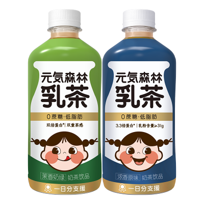 元気森林 元氣森林0蔗糖低脂高蛋白阿薩姆奶茶