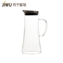 苏宁极物高硼硅玻璃凉水壶1.25L