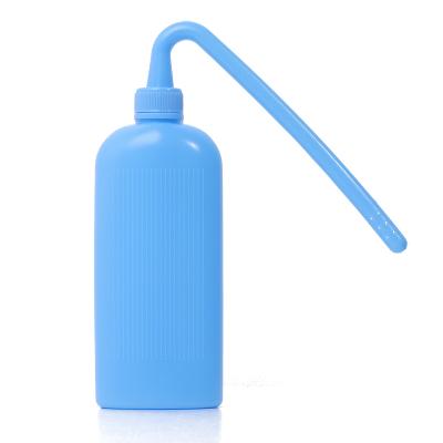 醫用造口袋沖洗瓶彎頭清洗器肛腸造瘺袋沖刷瓶一件式一次性糞袋清潔ZQZK-XCX001