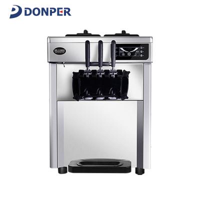 東貝(DONPER)CKX100商用冰淇淋機全自動臺式軟質冰激凌機雪糕機