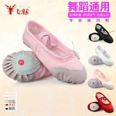 飞魅 六一儿童肚皮舞鞋子 猫爪鞋软底舞蹈练功鞋芭蕾舞印度舞鞋