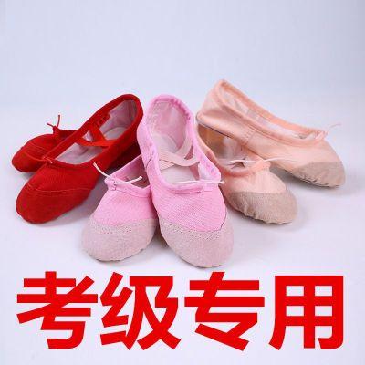 成人幼儿童舞蹈鞋女童软底练功鞋芭蕾舞鞋猫爪鞋跳舞鞋白色瑜伽鞋 衫伊格(shanyige)