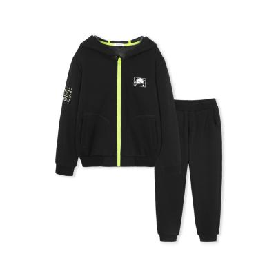 【1件5折】巴拉巴拉儿童套装男童加绒秋冬2019新款中大童时尚运动保暖两件套