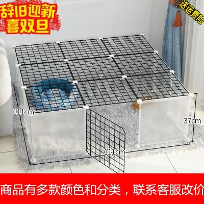 魔片狗狗围栏小型犬泰迪栏杆室内栅栏隔离兔子宠物笼子护栏