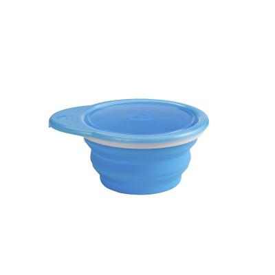 满趣健(munchkin)母婴婴幼儿童餐具折叠碗