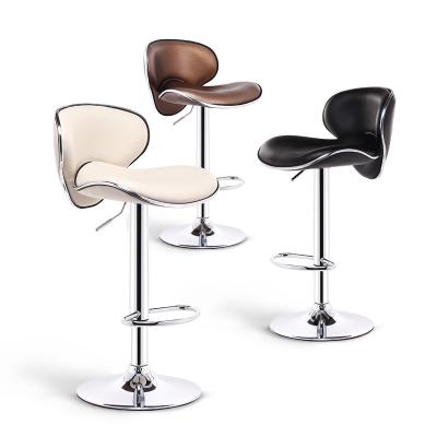 吧台椅高脚椅凳子升降椅子前台吧凳现代简约吧椅法耐FANAI酒吧高脚凳高靠背凳子