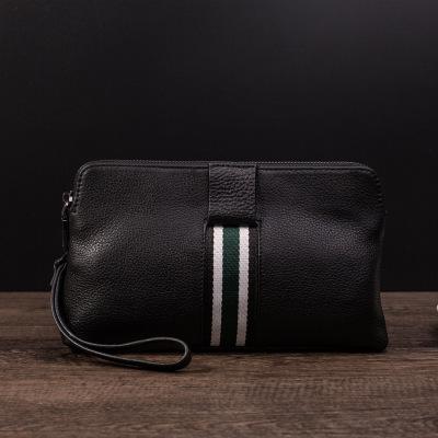 梵蒂加(VENTIGA)新款LZ-w3016手抓包男包手抓包头层牛皮休闲时尚软皮手拿包手包男真皮2折男士手包