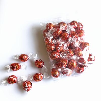 瑞士進口Lindt 瑞士蓮 軟心精選 牛奶巧克力味39粒 500g(1斤裝)零食結婚情人禮物