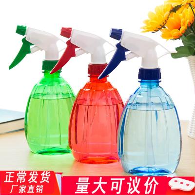3個裝 消毒噴霧瓶酒精噴壺84消毒液噴瓶透明手壓式噴壺消毒水家居園藝灑水壺 清迅