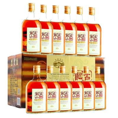 古越龍山 紹興黃酒糯米酒 清醇三年 500ml*12瓶 整箱裝