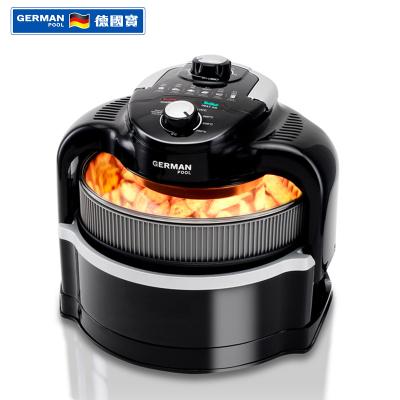 德國寶(GERMANPOOL)空氣炸鍋 CKF-110 無油烹飪 透視天窗 遠紅外線加熱 循環熱風 空氣炸鍋