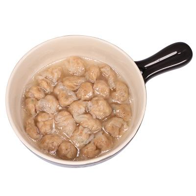 【正常發貨】兒童燕皮魷魚小餛飩 扁肉云吞 魷魚肉粒寶寶方便速凍食品冰鮮 100g
