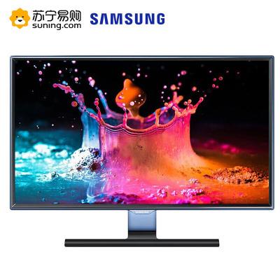 三星(SAMSUNG)23.6英寸 臻彩廣視角不閃屏 愛眼 HDMI高清接口 液晶電腦顯示器(S24E390HL)