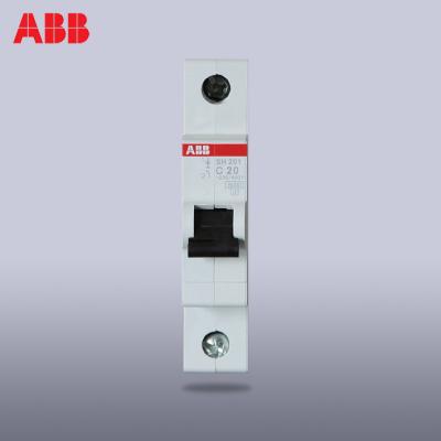 【ABB官方旗舰店】ABB小型断路器单进单出空气开关1P20A单片单极空开SH201-C20