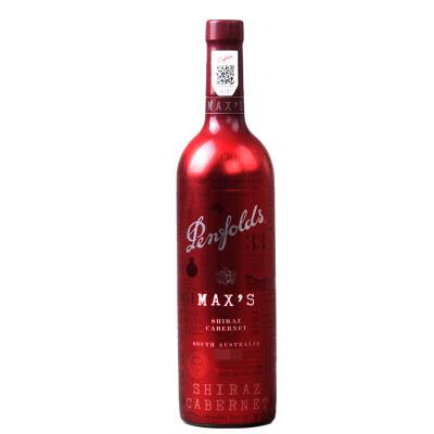 澳大利亞 奔富麥克斯 Penfolds Max's 經典西拉赤霞珠干紅葡萄酒750ml單支裝