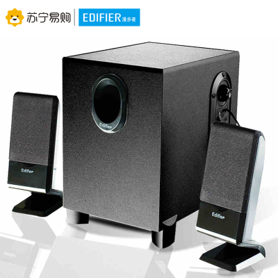 EDIFIER/漫步者 R101BT多媒體2.1有源木質音響臺式無線藍牙臺式電腦音箱 黑色