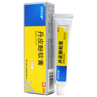 立方立清丹皮酚軟膏15g/盒 抗過敏消炎止癢皮炎蟲叮紅腫