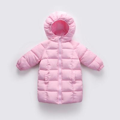 反季清倉兒童羽絨棉服中長款男童棉衣女童棉襖嬰幼兒冬季寶寶童裝