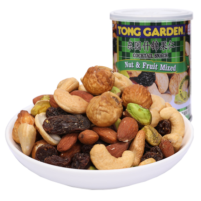 东园(Tong Garden) 东园什锦果仁140g 泰国原装进口综合坚果零食