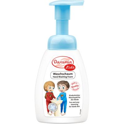 德国进口 达罗咪 儿童洗手液250ml 泡沫洗手液 洁净不干燥 宝宝 手部护理