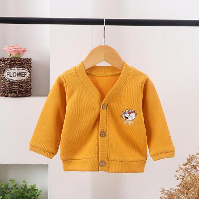 口袋虎春季新款兒童時尚毛衣兒童外套120cm
