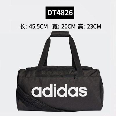 adidas阿迪達斯包健身手提包男女戶外旅行包大容量單肩斜跨運動桶包DT4826