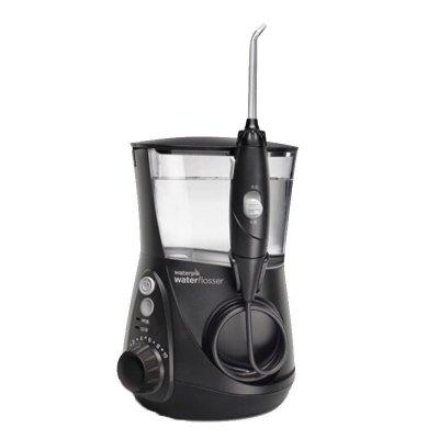 【10档水压可调】洁碧(Waterpik)WP-662 水箱值0.6通用亮白洗牙器 洁牙器 家用台式水瓶座系列 爵士黑