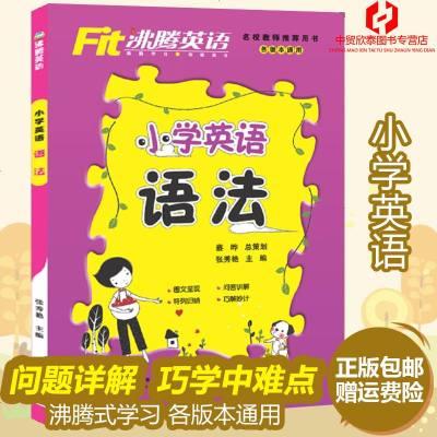 正版 沸腾英语小学英语语法训练 小学生三四五六年级英语教材辅导资料练习册5-6年级全国各版本通用图书籍