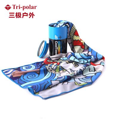 三極戶外(Tripolar) TP1134 戶外運動毛巾健身房冷感男速干籃球女瑜伽游泳跑步吸水擦汗手腕巾