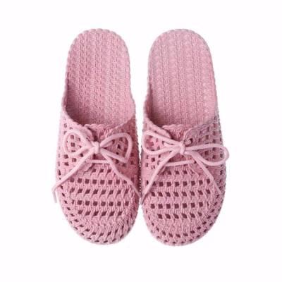 新款夏季包头平底洞洞鞋居家室内外凉拖鞋女懒人时尚学生沙滩拖鞋
