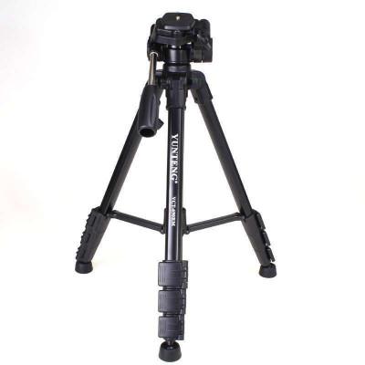 云騰(YUNTENG) 690專業三腳架 適用佳能77D 800D 70D 700D 760D 80D 折合高度值48