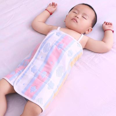 寶寶睡覺護肚子防踢被兒童純棉護肚圍嬰兒護肚臍肚兜小孩防著涼夏 TCVV