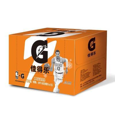 百事可樂 佳得樂 冰橙運動飲料600ml*15瓶(整箱)新老包裝隨機發貨