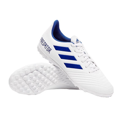 Adidas阿迪達斯2019新款足球鞋男PREDATOR 19.4 TF碎丁人造場地鞋子 D97971