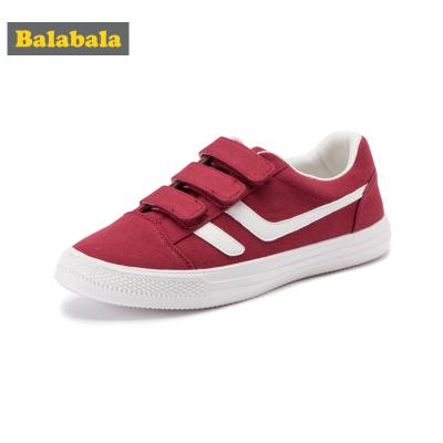 巴拉巴拉儿童帆布鞋男女宝宝幼童鞋子秋季时尚布鞋休闲鞋