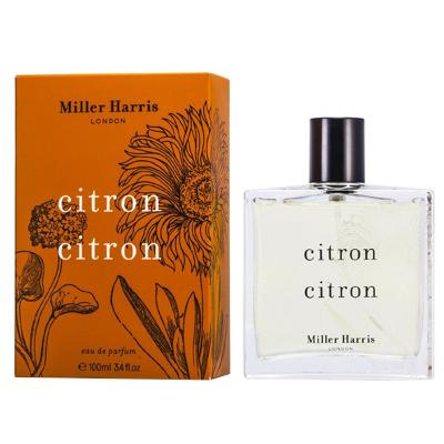 Miller Harris米勒·哈瑞絲 香櫞男士香水Citron Citron EDP(新包裝) 淡香精 100毫升