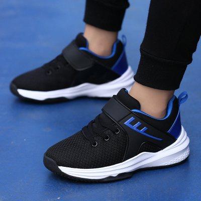 珂卡慕(KEKAMU) 2019新款春季7男童运动鞋8岁小学生9大儿童篮球鞋10男孩6透气网鞋