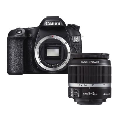 【二手95新】佳能(Canon) EOS 70D +18-55 STM  單反相機 數碼相機【套機】