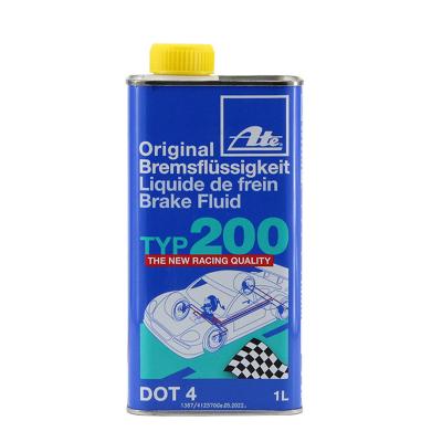 ATE德國全合成剎車油typ200 汽車競技型剎車液dot4制動液通用型