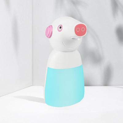 小猪自动感应洗手机儿童卡通泡沫皂液器智能佩奇洗手液机
