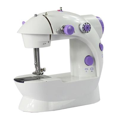 縫紉機家用電動迷你多功能小型手動吃厚微型腳踏縫紉機