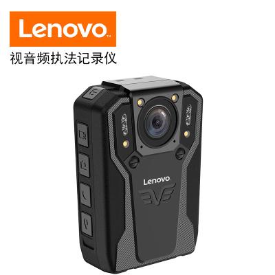 聯想(Lenovo)DSJ-5H執法記錄儀1296P高清紅外夜視128G黑色專業微型便攜音視頻現場執法儀