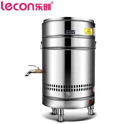 樂創(lecon) 40型煮面桶商用煮面爐燃氣關東煮機面條機不銹鋼雙層保溫電熱節能煮面鍋煲粥關東煮串串香設備
