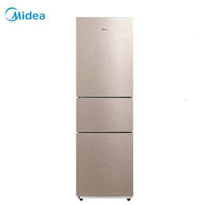 【99新】美的(Midea)BCD-217WTM 三門家用租房冰箱 靜音雙驅風冷無霜 217升不易串味 家用冷藏冷凍