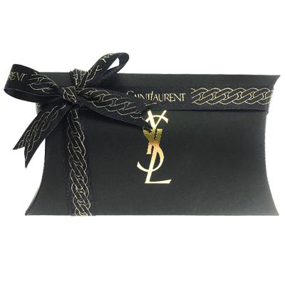 圣罗兰(YSL)礼盒盒包装/化妆包/17*9*3.5cm/黑色系