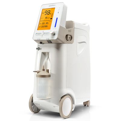 魚躍制氧機9F-3AW家用吸氧機老人孕婦醫用級氧氣機器帶霧化功能血氧檢測