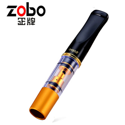 買一發四 ZOBO正牌雙重過濾煙嘴過濾器循環型可清洗過濾嘴煙具禮品ZB-053